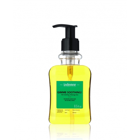shower gel natural for face and body - gimme soothing